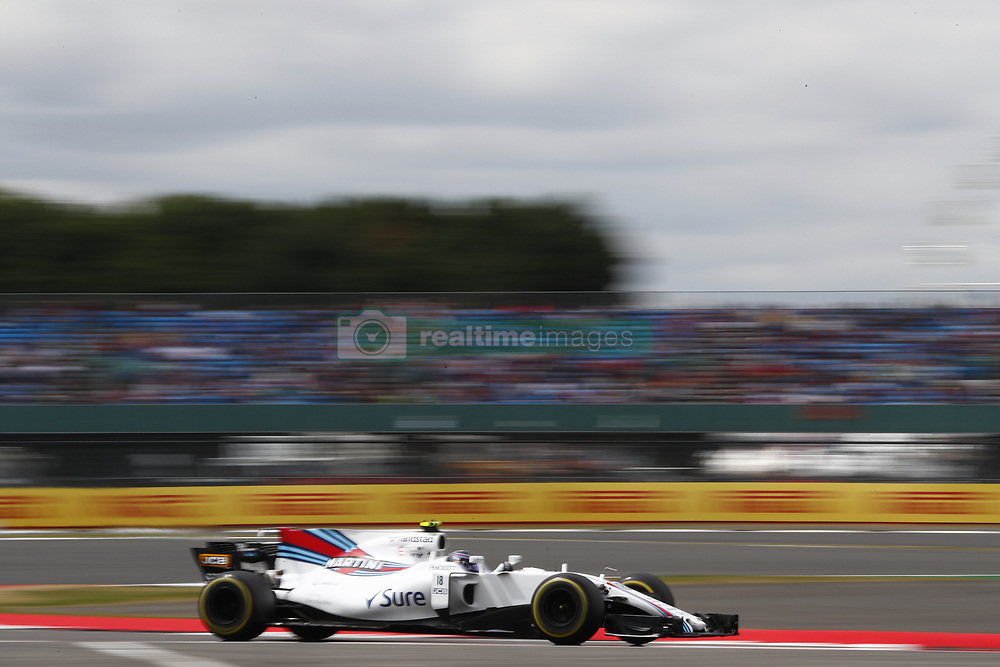 July 14, 2017 - Silverstone, Great Britain - Motorsports: FIA Formula One World Championship 2017, Grand Prix of Great Britain, .#18 Lance Stroll (CAN, Williams Martini Racing) (Credit Image: © Hoch Zwei via ZUMA Wire)