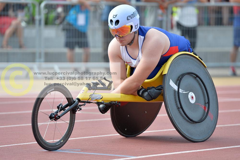 03/08/2017; Agnew, Jack, T54, GBR at 2017 World Para Athletics Junior Championships, Nottwil, Switzerland