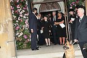 Baroness Thatcher, Mark Birley funeral. St Paul's , Knightsbridge. London. 19 September 2007. -DO NOT ARCHIVE-© Copyright Photograph by Dafydd Jones. 248 Clapham Rd. London SW9 0PZ. Tel 0207 820 0771. www.dafjones.com.