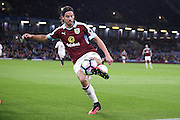 Burnley midfielder George Boyd (21)  during the Premier League match between Burnley and Watford at Turf Moor, Burnley, England on 26 September 2016. Photo by Simon Davies.