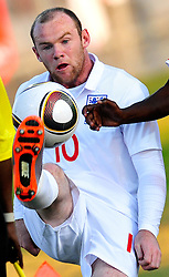 07.06.2010, Stadion, Rustenburg, RSA, FIFA WM 2010, Vorbereitung, England vs Platinum Stars im Bild Wayne Rooney, EXPA Pictures © 2010, PhotoCredit: EXPA/ InsideFoto/ Giorgio Perottino : ATTENTION FOR AUSTRIA and SLOVENIA ONLY! / SPORTIDA PHOTO AGENCY