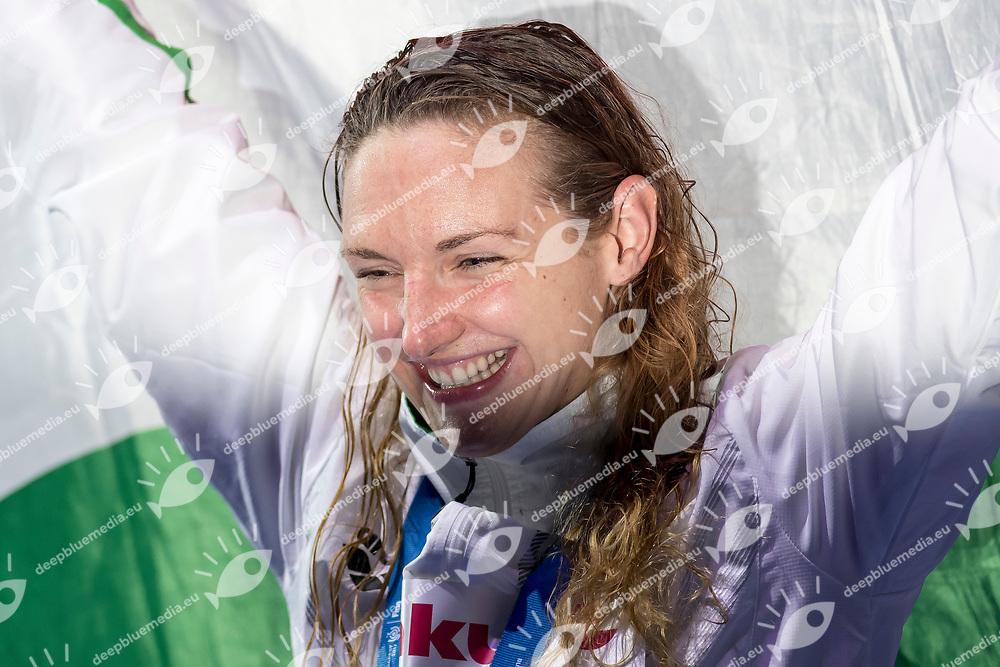 HOSSZU Katinka HUN Gold Medal <br /> Women's 400m Individual Medley <br /> Swimming  <br /> 30/07/2017 <br /> XVII FINA World Championships Aquatics<br /> Duna Arena Budapest Hungary <br /> Photo Andrea Staccioli/Deepbluemedia/Insidefoto