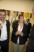 Mark Hix and Tracey Emin, Alex Katz 'One Flight Up' at the new Timothy Taylor Gallery , 15 Carlos Place. London. 11 October 2007. -DO NOT ARCHIVE-© Copyright Photograph by Dafydd Jones. 248 Clapham Rd. London SW9 0PZ. Tel 0207 820 0771. www.dafjones.com.