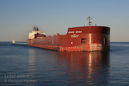 03: LAKE SUPERIOR DULUTH SHIP CANAL, FREIGHTER