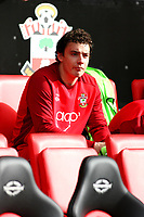 Football - 2012 / 2013 Premier League - Southampton vs. Liverpool<br /> Southampton's Vegard Forren takes his seat as a substitute for the fixture against Liverpool at St Mary's Stadium Southampton
