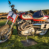 2005 Mert Lawwill Street Tracker, in the early morning light, pre-show, at the 2012 Santa Fe Concorso.