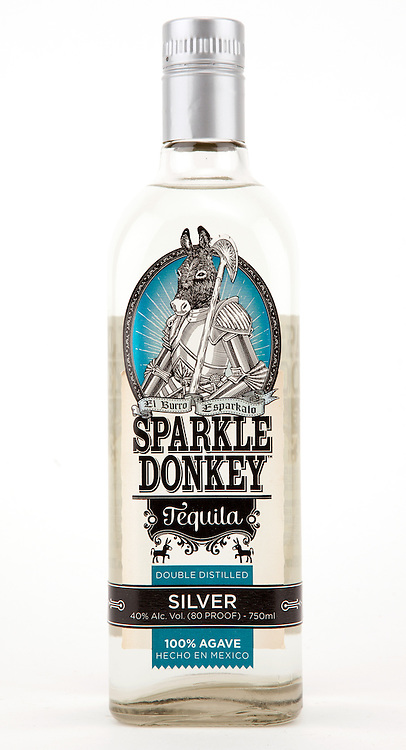 Sparkle Donkey Tequila Silver -- Image originally appeared in the Tequila Matchmaker: http://tequilamatchmaker.com