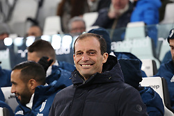 December 20, 2017 - Turin, Piedmont, Italy - Massimiliano Allegri, head coach of Juventus FC, before the Italian Cup football match between Juventus FC and Geona CFC at Allianz Stadium on 20 December, 2017 in Turin, Italy. (Credit Image: © Massimiliano Ferraro/NurPhoto via ZUMA Press)