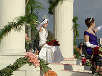 Rose Court Queen at 2005 Tournament of Roses Parade, Pasadena, California
