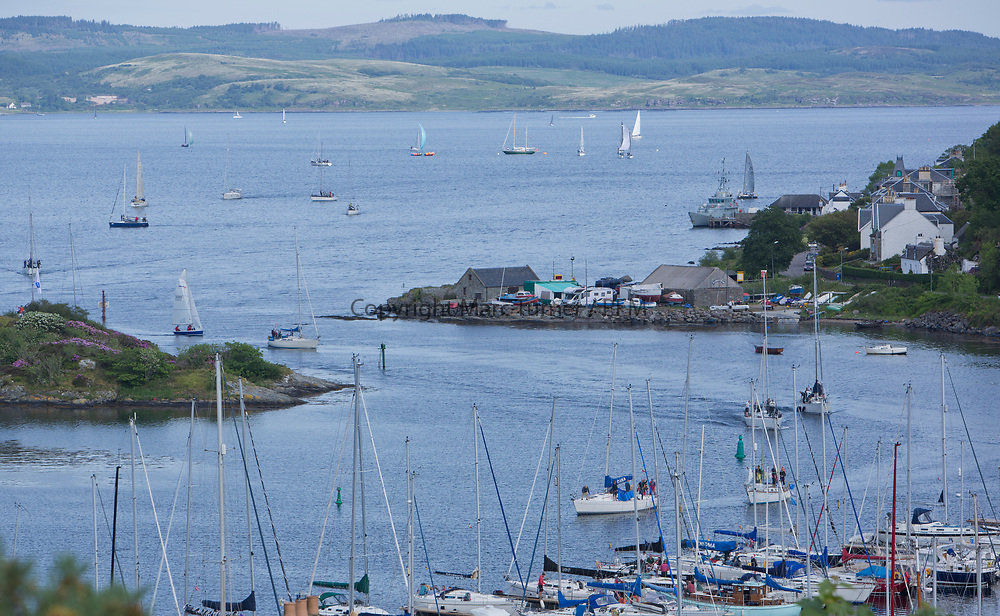 Silvers Marine Scottish Series 2017<br /> Tarbert Loch Fyne - Sailing Day 3<br /> <br /> Tarbert Harbour