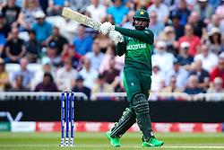 Fakhar Zaman of Pakistan plays a pull shot - Mandatory by-line: Robbie Stephenson/JMP - 03/06/2019 - CRICKET - Trent Bridge - Nottingham, England - England v Pakistan - ICC Cricket World Cup 2019 Group Stage
