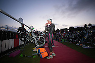 General Event Coverage, February 8, 2015 - TRIATHLON : Ironman Geelong 70.3, Eastern Beach Precinct, Geelong, Victoria, Australia. Credit: Lucas Wroe