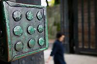 Japan Tokyo Tokyo Imperial Palace Tayasu-mon Gate close up