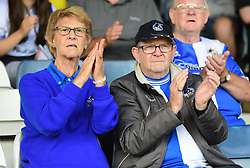Bristol Rovers fans. - Mandatory by-line: Alex James/JMP - 15/09/2018 - FOOTBALL - Kenilworth Road - Luton, England - Luton Town v Bristol Rovers - Sky Bet League One
