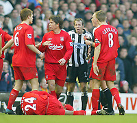 19/12/2004 - FA Barclays Premiership - Liverpool v Newcastle United - Anfield, Liverpool<br />
