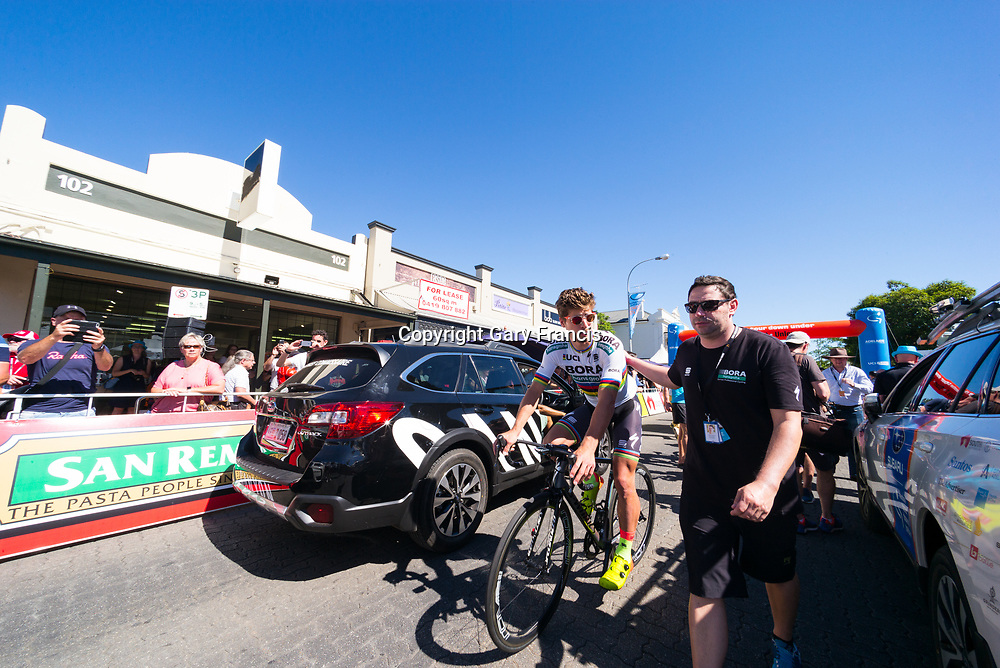 Peter Sagan at the start of Stage 2, Unley to Stirling, of the Tour Down Under, Australia on the 17 of January 2018 ( Credit Image: © Gary Francis / ZUMA WIRE SERVICE )