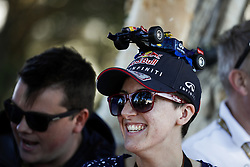 March 23, 2018 - Melbourne, Victoria, Australia - Red Bull Racing fan during 2018 Formula 1 championship at Melbourne, Australian Grand Prix, from March 22 To 25 - Photo  Motorsports: FIA Formula One World Championship 2018, Melbourne, Victoria : Motorsports: Formula 1 2018 Rolex  Australian Grand Prix, (Credit Image: © Hoch Zwei via ZUMA Wire)