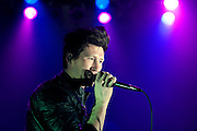 Anberlin performing at the Newport Music Hall in Columbus, OH on January 22, 2011