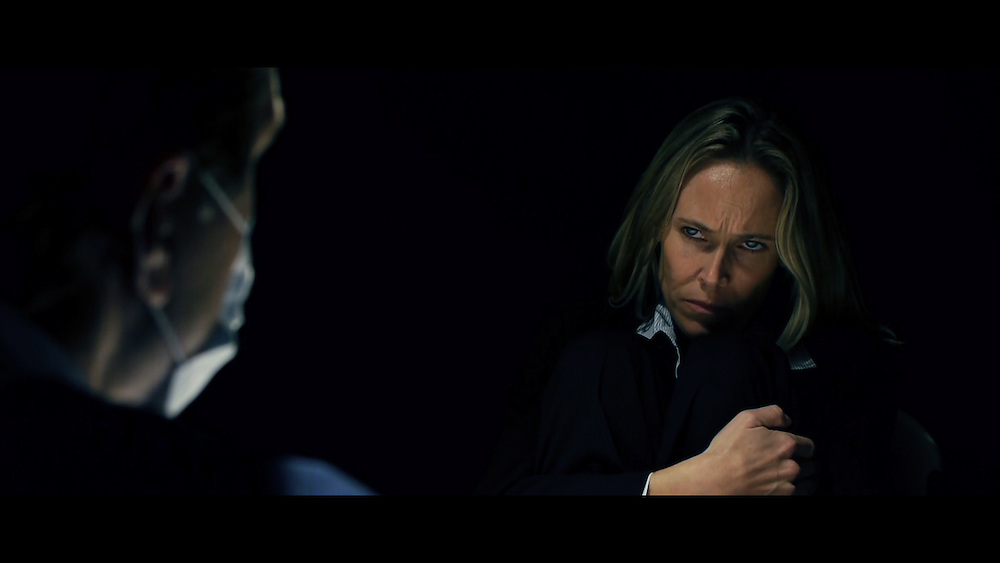 """NJ Film School: Test Subject"""" (VIDEO: http://www.vimeo.com/17313020)<br /> starring: lisa streger, jeff streger<br /> story: matais caruso<br /> directors: billy george, gerard amsellem<br /> cinematographers: mark menditto, pam owens<br /> gaffers: ash patel, mark menditto<br /> sound: gerard ansellem, pam owens<br /> script supervisors: billy george, ash patel<br /> editor: chris messineo (offStageFilms, NJ Film School, MoviePoet)<br /> <br /> copyright NJ Film School. Used with permission."""