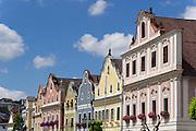 Neufelden, Austria. Baroque facades.