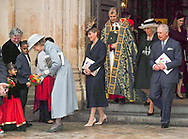 12.03.2018; London, England: PRINCE CHARLES AND CAMILLA, DUCHESS OF CORNWALL<br /> attend the Commonwealth Service at Westminster Abbey on Commonwealth Day. <br /> Mandatory Photo Credit: &copy;Francis Dias/NEWSPIX INTERNATIONAL<br /> <br /> IMMEDIATE CONFIRMATION OF USAGE REQUIRED:<br /> Newspix International, 31 Chinnery Hill, Bishop's Stortford, ENGLAND CM23 3PS<br /> Tel:+441279 324672  ; Fax: +441279656877<br /> Mobile:  07775681153<br /> e-mail: info@newspixinternational.co.uk<br /> Usage Implies Acceptance of Our Terms &amp; Conditions<br /> Please refer to usage terms. All Fees Payable To Newspix International