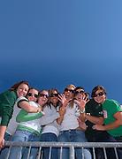 17904Homecoming 2006 10/20/06:  Fotball vs. Buffalo ...Alex McMillen, ALex Imholz, Jess Selllers, Megan Bowman, Betsy Bale, Jenna Cool Mandy Moon..