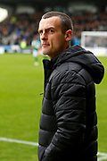 Oran Kearney of St Mirren expecting big things of his side today ahead of kickoff at the Ladbrokes Scottish Premiership match between St Mirren and Hibernian at the Simple Digital Arena, Paisley, Scotland on 29th September 2018.