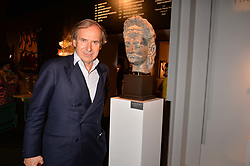 Simon De Pury at the 2017 PAD Collector's Preview, Berkeley Square, London, England. 02 October 2017.
