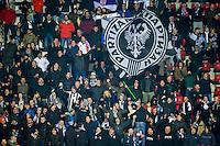 ALKMAAR - 26-11-15, Europa League, AZ  - FK Partizan, AFAS Stadion, 1-2, supporters Partizan.