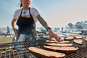 Fire Flour Fork, 2017, Bounty by the Bay, featuring chefs Dylan Fultineer and Gabrielle Hamilton at Merroir, featuring Rappahannock River oysters
