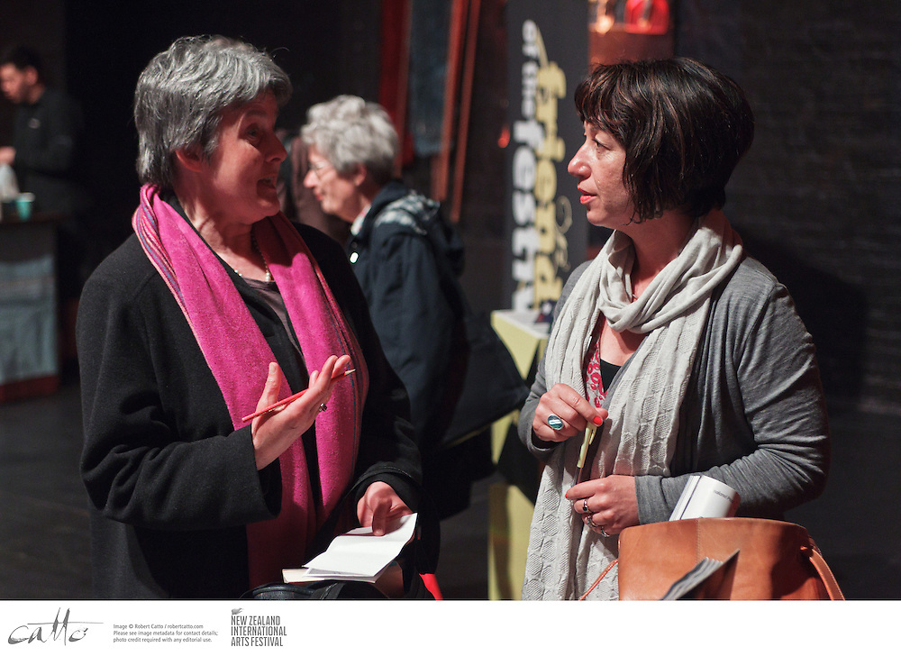 Friends of the New Zealand International Arts Festival gathered at Wellington's Opera House to celebrate the launch of the 2012 Festival programme guide, and to learn more about what shows will be coming to town in February and March.  The programme was introduced by  Festival Artistic Director Lissa Twomey.
