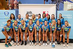 Players at Press Conference of RK Krim Mercator at start of the season 2018/19, on August 16, 2018 in Mercator Siska, Ljubljana, Slovenia. Photo by Matic Klansek Velej / Sportida