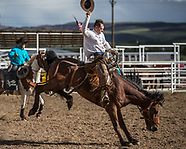Saturday Iron Man Ranch Bronc Riding