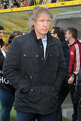 01.03.2014, Signal Iduna Park, Dortmund, GER, 1. FBL, Borussia Dortmund vs 1. FC Nuernberg, 23. Runde, im Bild Trainer Gertjan Verbeek (1 FC Nuernberg) // during the German Bundesliga 23th round match between Borussia Dortmund and 1. FC Nuernberg at the Signal Iduna Park in Dortmund, Germany on 2014/03/01. EXPA Pictures © 2014, PhotoCredit: EXPA/ Eibner-Pressefoto/ Schueler<br /> <br /> *****ATTENTION - OUT of GER*****