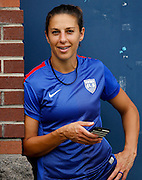 CHATTANOOGA, TN - AUGUST 19:  Midfielder Carli Lloyd #10 of the United States lwaits to take the field before the friendly match against Costa Rica at Finley Stadium on August 19, 2015 in Chattanooga, Tennessee.  (Photo by Mike Zarrilli/Getty Images)