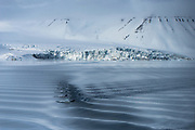 Ocean surface<br /> Svalbard<br /> Norway<br /> Arctic Ocean