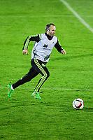 Spanish National Team's  training at Ciudad del Futbol stadium in Las Rozas, Madrid, Spain. In the pic: Andres Iniesta. March 25, 2015. (ALTERPHOTOS/Luis Fernandez)