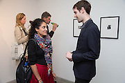 NOORI ZAID; ADAM PETERS; , Fashion Show: Robert Mapplethorpe. Alison Jacques Gallery. Berners St. London. 10 September 2013