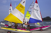 AT5BWD Launch sailing dinghy boats River Deben Woodbridge Suffolk