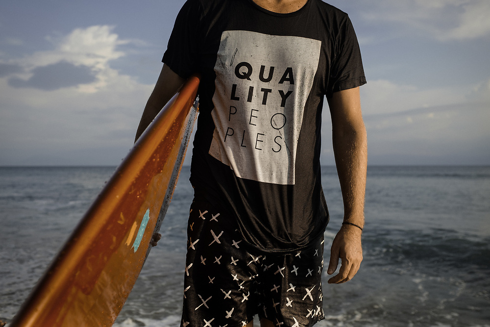 Surfing apparel. Punta Burros, Mexico | Quality Peoples