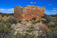 Anasazi Ruins at Hovenweep National Monument, Utah, USA
