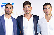 Domenico Acerenza, Andrea Manzi<br /> Roma 18-09-2018 Spazio 900<br /> Serata Meravigliosi organizzata dalla Federazione Italiana Nuoto FIN per festeggiare i propri atleti al termine della stagione. <br /> Happening 'Meravigliosi' organized by italian Swimming Federation FIN to celebrate their athletes at the end of the season. <br /> Foto Rita Pannunzi/Deepbluemedia/Insidefoto