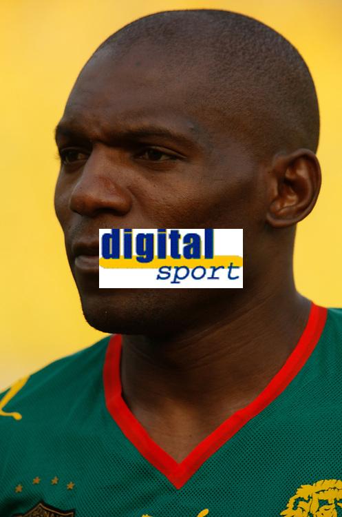 Photo: Steve Bond/Richard Lane Photography.<br />Egypt v Cameroun. Africa Cup of Nations. 22/01/2008. Njitap Geremi ov Newcastle and Cameroon