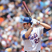 NEW YORK, NEW YORK - June 01:  Neil Walker #20 of the New York Mets batting during the Chicago White Sox  Vs New York Mets regular season MLB game at Citi Field on June 01, 2016 in New York City. (Photo by Tim Clayton/Corbis via Getty Images)