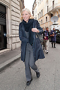 2013/03/06 Roma, Riunione della direzione del Partito Democratico. Nella foto Josefa Idem.<br /> Rome, Partito Democratico meeting of national leadership. In the picture Josefa Idem - &copy; PIERPAOLO SCAVUZZO