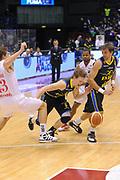 DESCRIZIONE : Milano Lega A 2011-12 EA7 Emporio Armani Milano Fabi Shoes Montegranaro<br /> GIOCATORE : Coby Karl<br /> CATEGORIA : Palleggio Equilibrio<br /> SQUADRA : Fabi Shoes Montegranaro<br /> EVENTO : Campionato Lega A 2011-2012<br /> GARA : EA7 Emporio Armani Milano Fabi Shoes Montegranaro<br /> DATA : 17/12/2011<br /> SPORT : Pallacanestro<br /> AUTORE : Agenzia Ciamillo-Castoria/A.Dealberto<br /> Galleria : Lega Basket A 2011-2012<br /> Fotonotizia : Milano Lega A 2011-12 EA7 Emporio Armani Milano Fabi Shoes Montegranaro<br /> Predefinita :