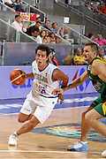 DESCRIZIONE : Madrid Spagna Spain Eurobasket Men 2007 Qualifying Round Italia Lituania Italy Lithuania<br /> GIOCATORE : Massimo Bulleri<br /> SQUADRA : Italia Italy<br /> EVENTO : Eurobasket Men 2007 Campionati Europei Uomini 2007<br /> GARA : Italia Italy Lituania Lithuania<br /> DATA : 08/09/2007<br /> CATEGORIA : Penetrazione<br /> SPORT : Pallacanestro<br /> AUTORE : Ciamillo&amp;Castoria/E.Castoria