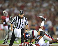 Ole Miss vs. Alabama at Bryant-Denny Stadium in Tuscaloosa, Ala. on Saturday, September 29, 2012.