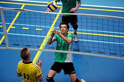 11-04-2009 VOLLEYBAL: ASICS OPEN: APELDOORN <br /> In Apeldoorn werden de finales van AsicsOpen georganiseerd / SSS Barneveld<br /> ©2009-WWW.FOTOHOOGENDOORN.NL