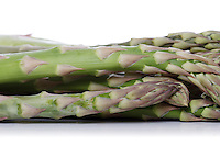 Close up of bunch of asparagus